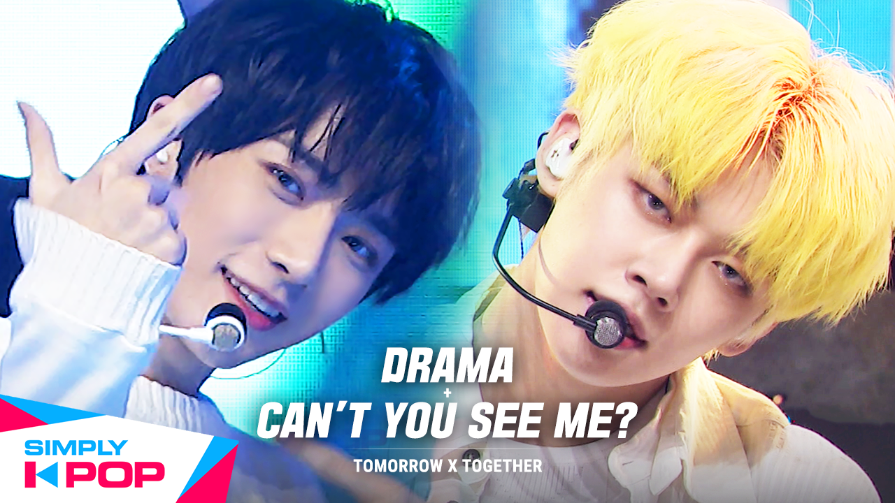 [Simply K-Pop] ❋Simply's Spotlight❋ TOMORROW X TOGETHER(투모로우바이투게더) - Drama + Can't You See Me?(세계가 불타버린 밤, 우린…) _ Ep.416