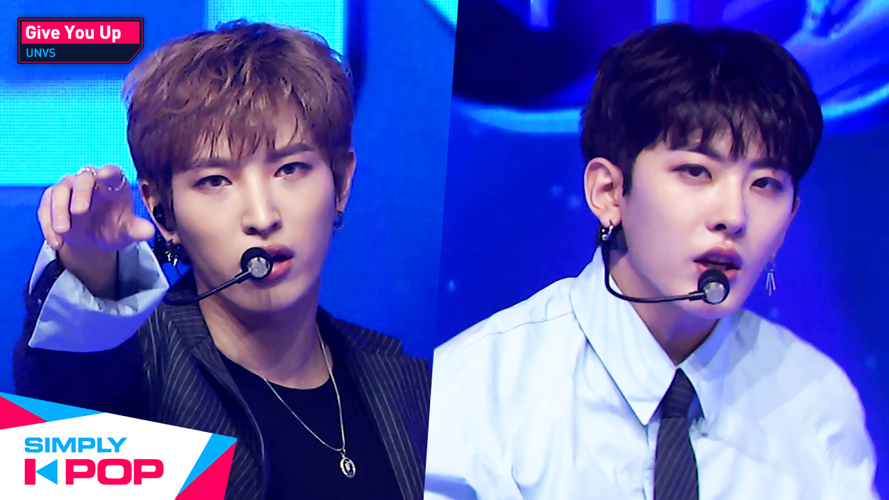 [Simply K-Pop] UNVS - Give You Up Ep.418