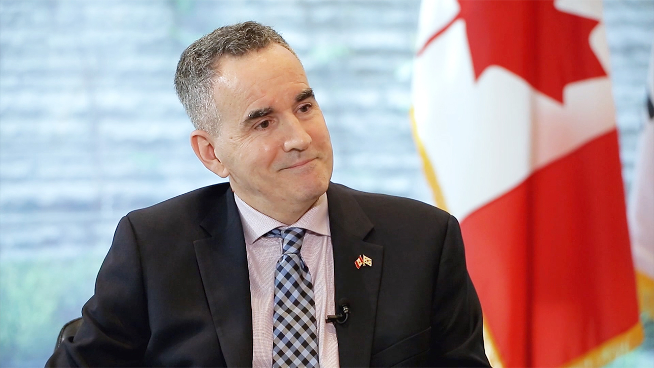 Ep.103 Ambassador of Canada to S. Korea, Michael Danagher