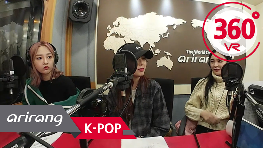 [360º Video] SONAMOO(소나무) _ K-Poppin'(Arirang Radio)