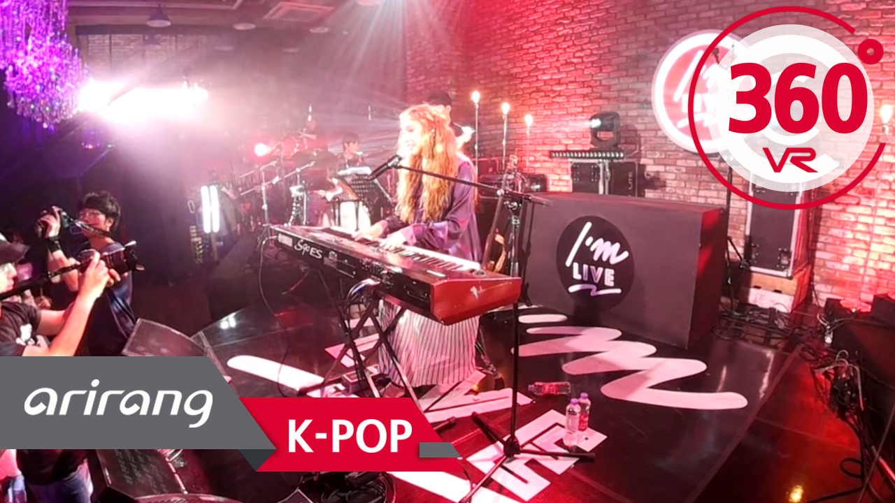 [360° Video] LEE Jin-ah (이진아) & Like & Love _ I'm LIVE
