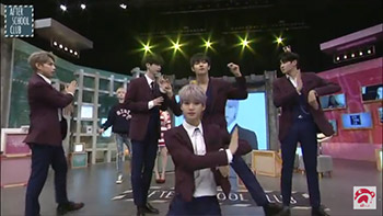 [A+ After School Club] HALO After the live show (헤일로 생방 후 모습)