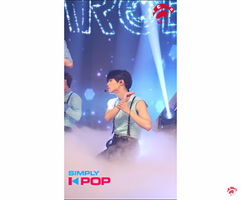 [A+ Fancam] Target (타켓) _ Woojin (우진) _ Is it True (실화냐) _ Simply K-Pop