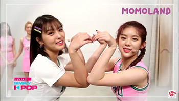 [A+ ] MOMOLAND (모모랜드) _ Showing Lovely Heart to 'Merry Go Round'