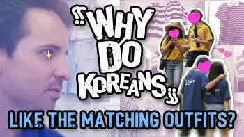 [Why do Koreans..?] Like the Matching Outfits?
