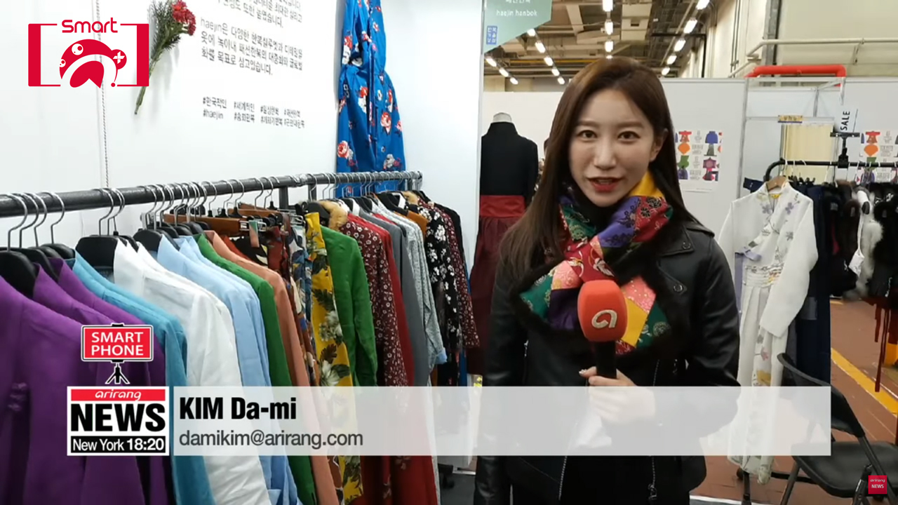[Smart A+]From shopping to clubbing...Hanbok has become comfortable, trendy everyday clothing