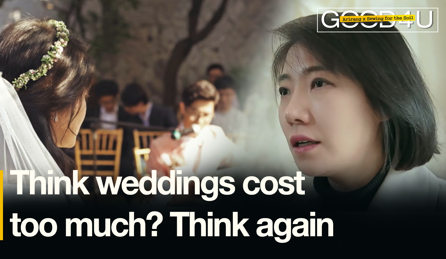 Think weddings cost too much? Think again. [Good4U_SewingforSoil]