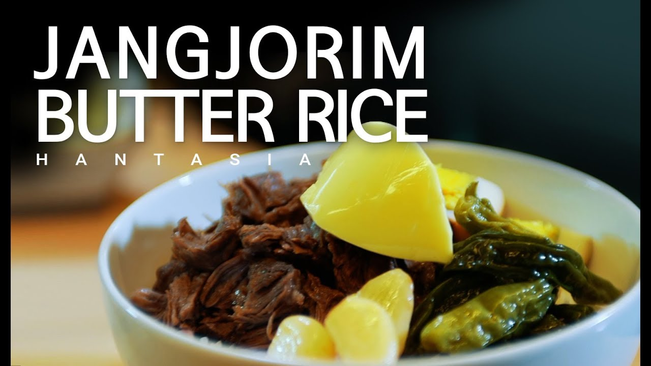 Salty beef meets creamy butter! JANGJORIM BUTTER RICE