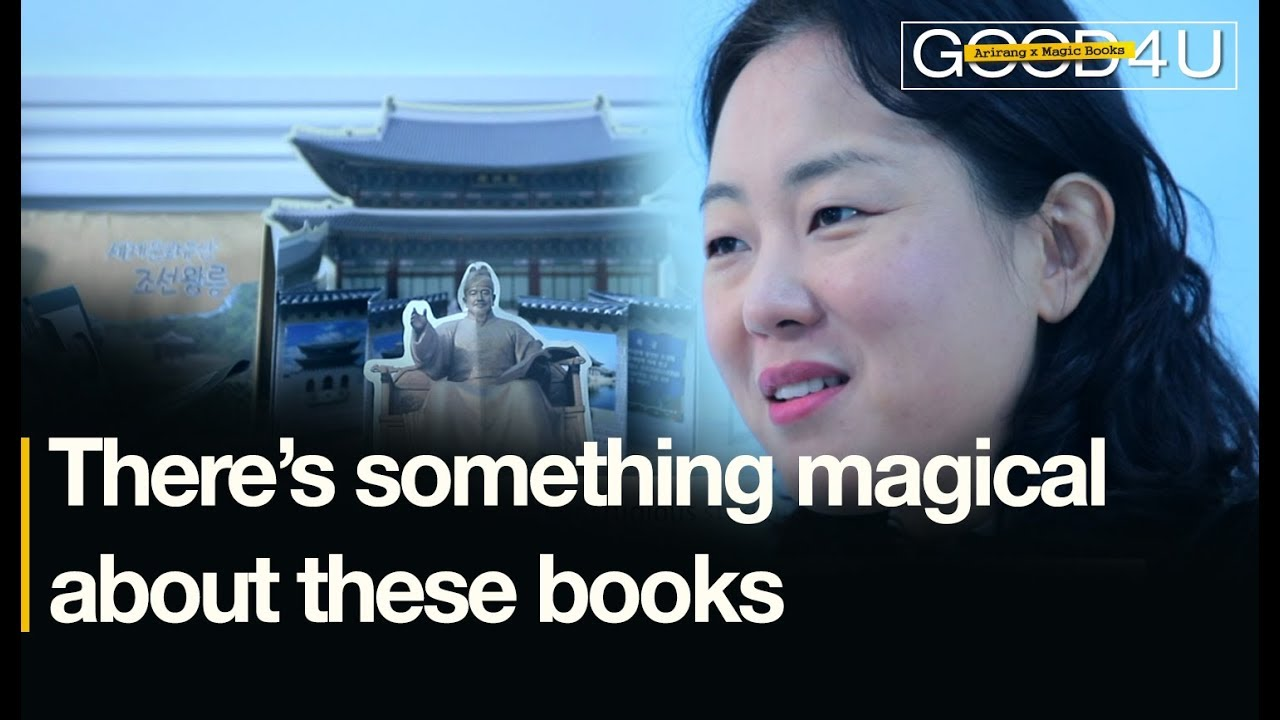 There's something magical about these books [Good4U_MAGICBOOKS]