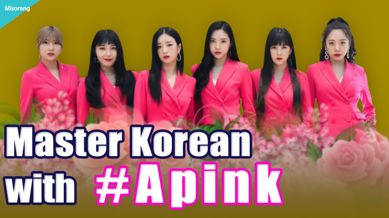 Master Korean with #Apink💗 [Korean with Misorang 14]