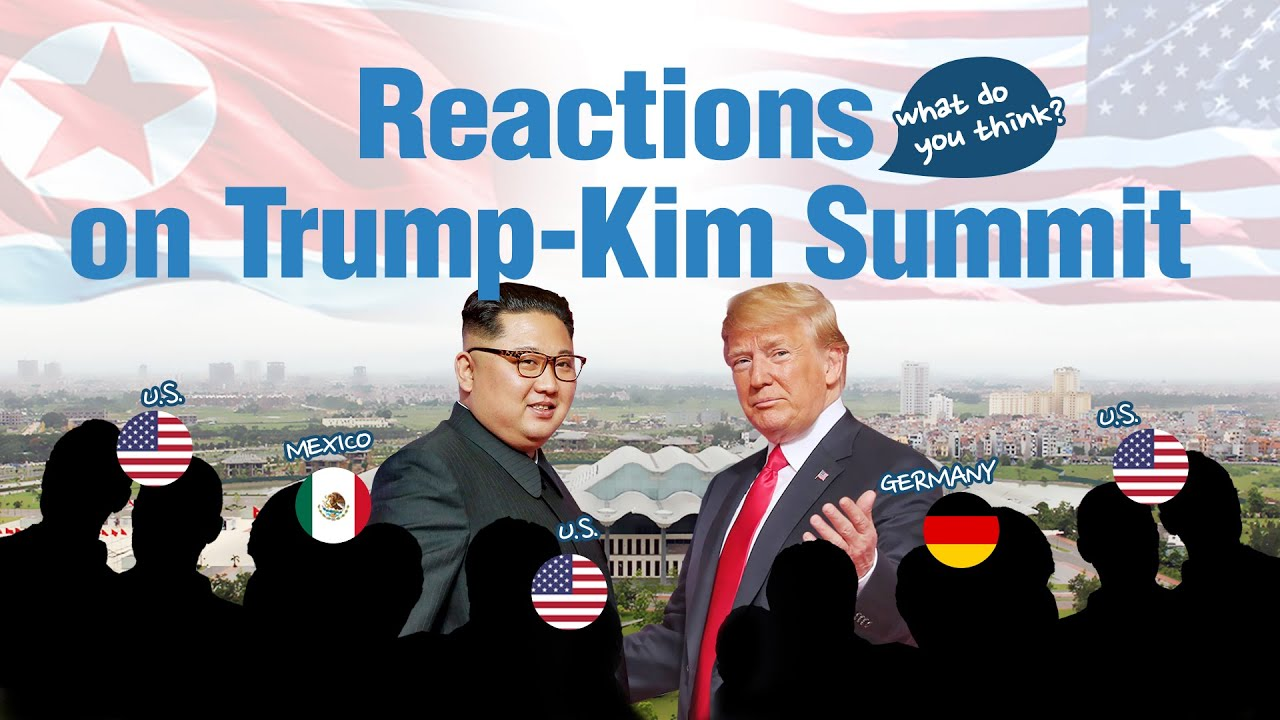 Reactions on Trump-Kim Summit