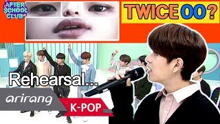 [AFTER SCHOOL CLUB] Eyes, nose and lip quiz (rehearsal) (눈코입 퀴즈 - 리허설) _ HOT!