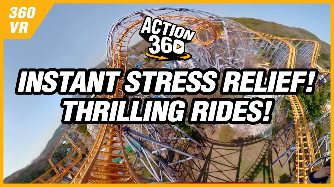 Instant Stress Relief! Thrilling Rides!🎢