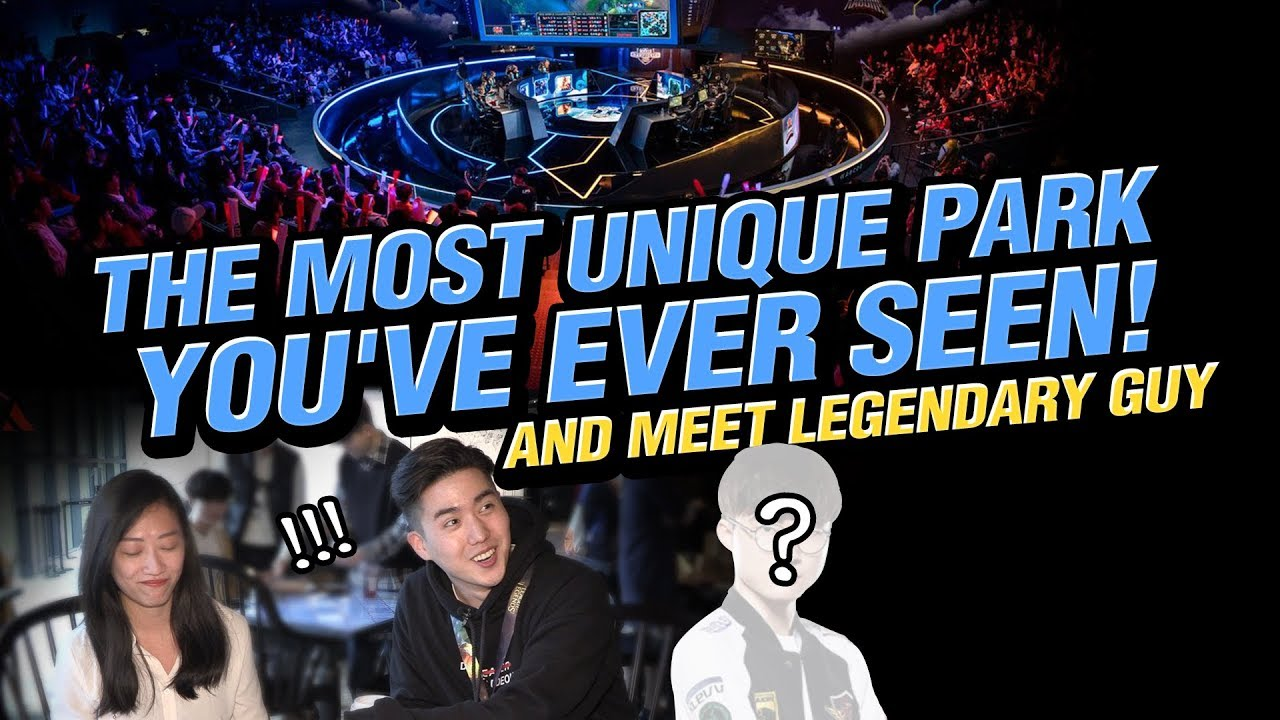 The Most Unique Park You've Ever Seen! and Meet Legendary Guy🕹