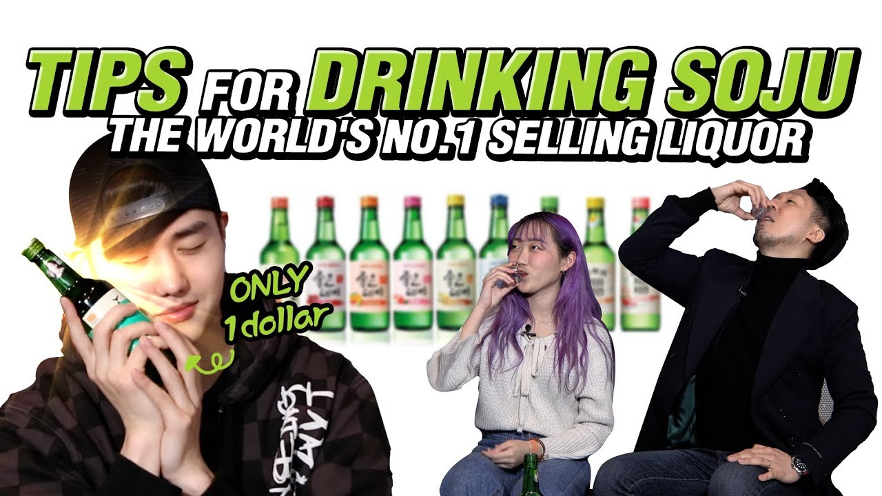 Tips for Drinking SOJU, the World's No.1 Selling Liquor🍾