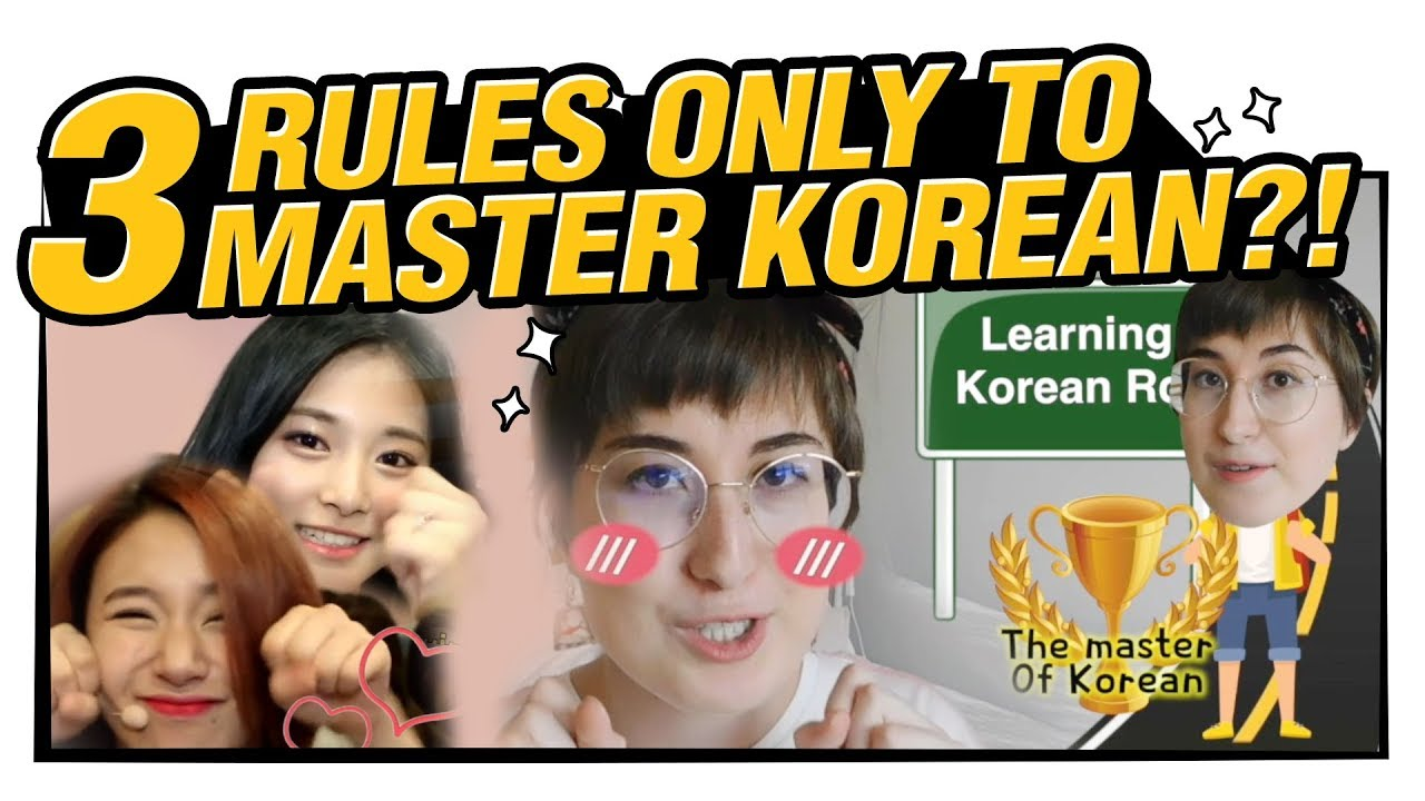 Three Rules I Follow on my Korean Language Journey🔍