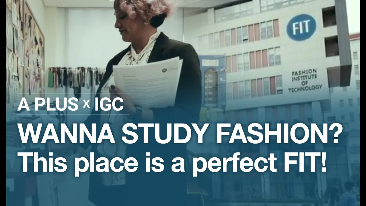 Wanna study fashion? This place is a perfect FIT!👗