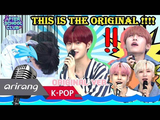 [AFTER SCHOOL CLUB] AB6IX members version of DAEHWIs killing part...
