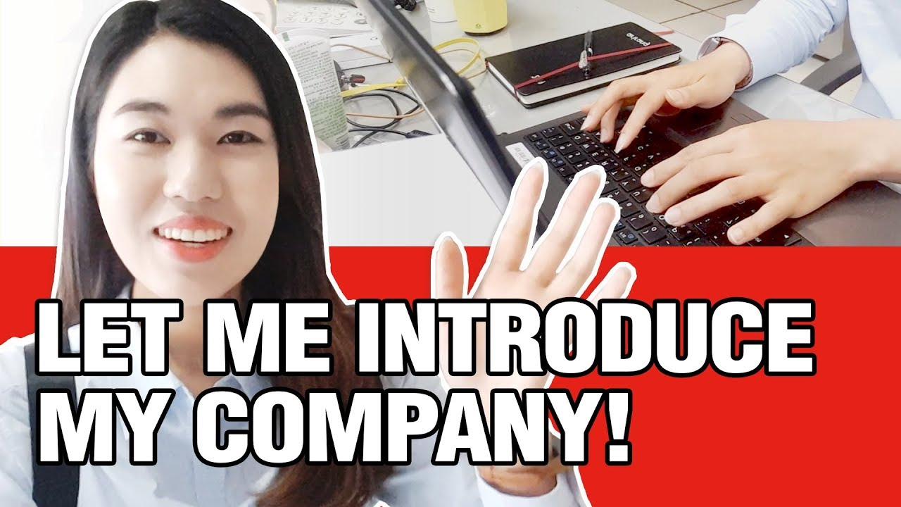 [UNNIE NEWS] Let me Introduce my Company!💁‍♀