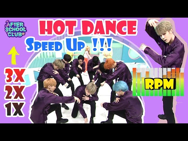 [AFTER SCHOOL CLUB] NOIR's Doom Doom speed up dance (rehearsal ver.) (느와르의 Doom Doom 스피드업 댄스 (리허설))