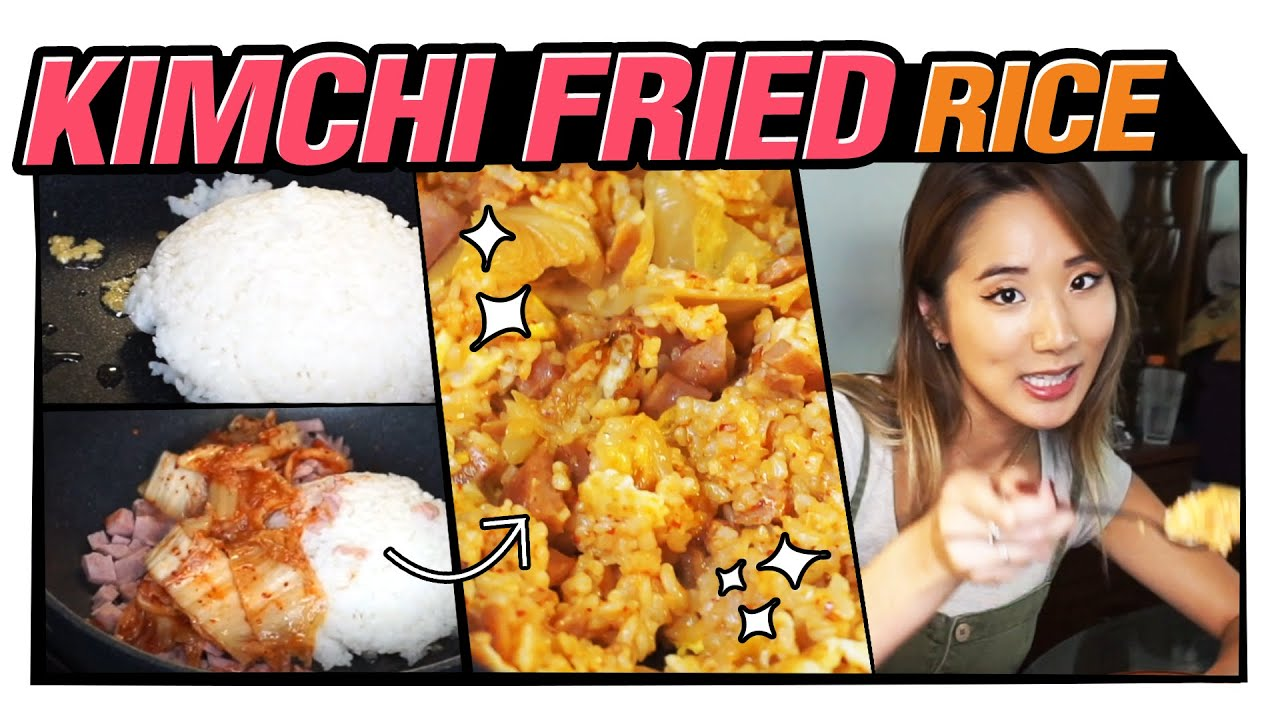 Must-try Korean Food, Let's Make Kimchi Fried Rice Together!