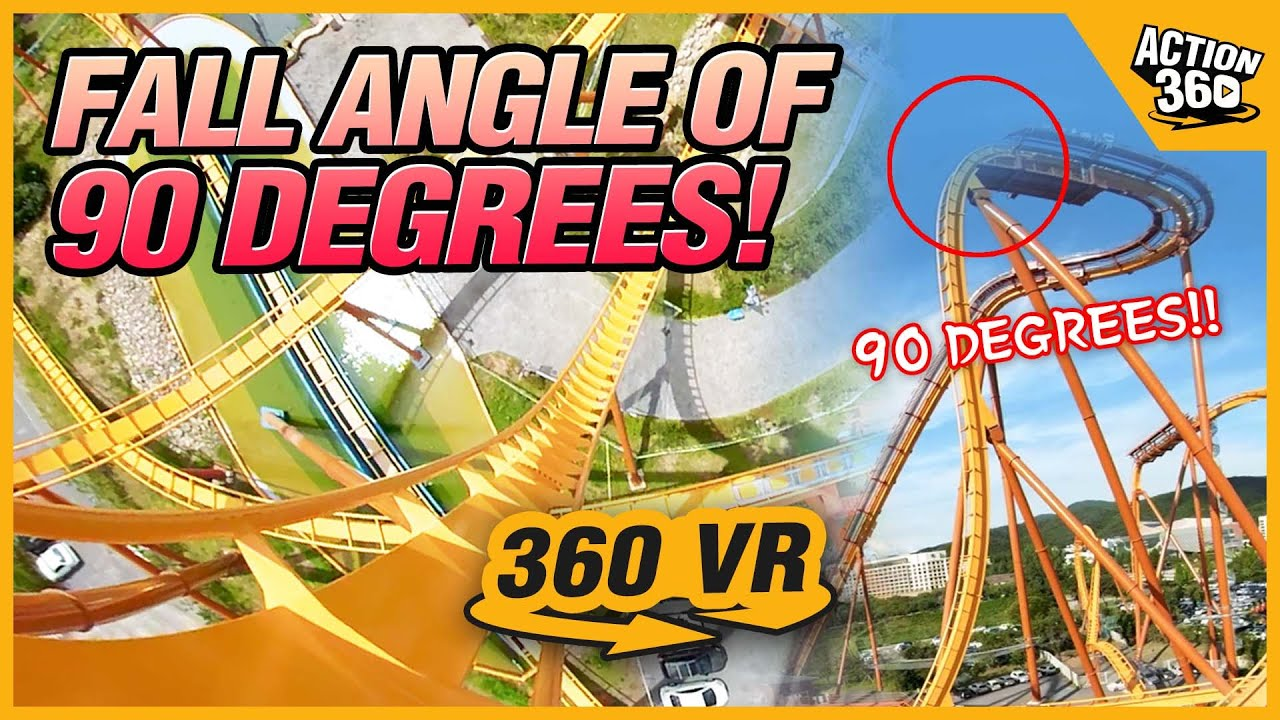 [Action 360] The jaw dropping thrill! Korea's greatest amusement park, Gyeongju World!