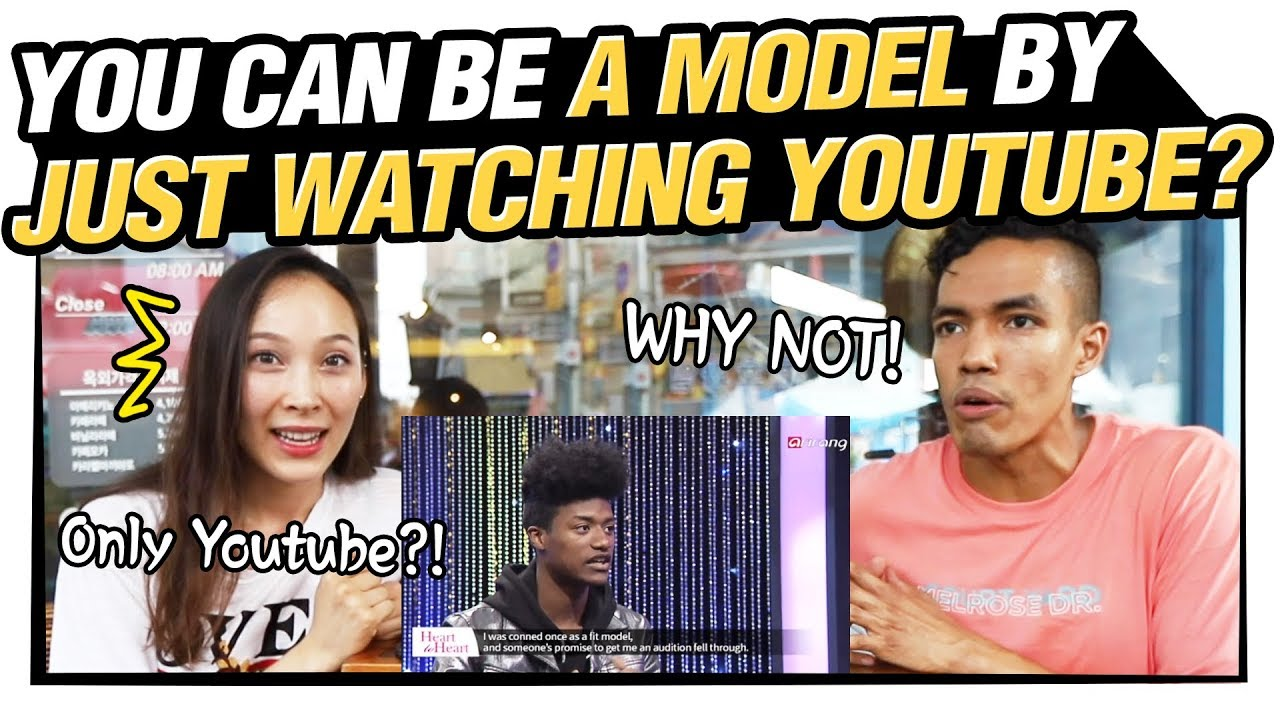 Half-Koreans React to First African Korean Model, Han Hyun-min