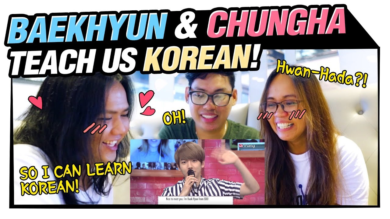 How we learn Korean - reaction to 'Korean with Misorang'!