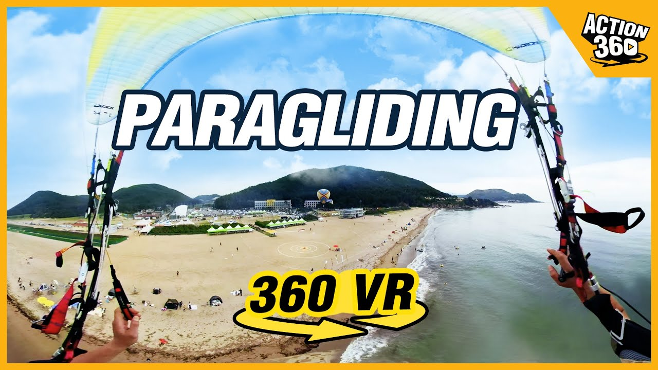 [Action 360] Paragliding, Everyone's bucket list!