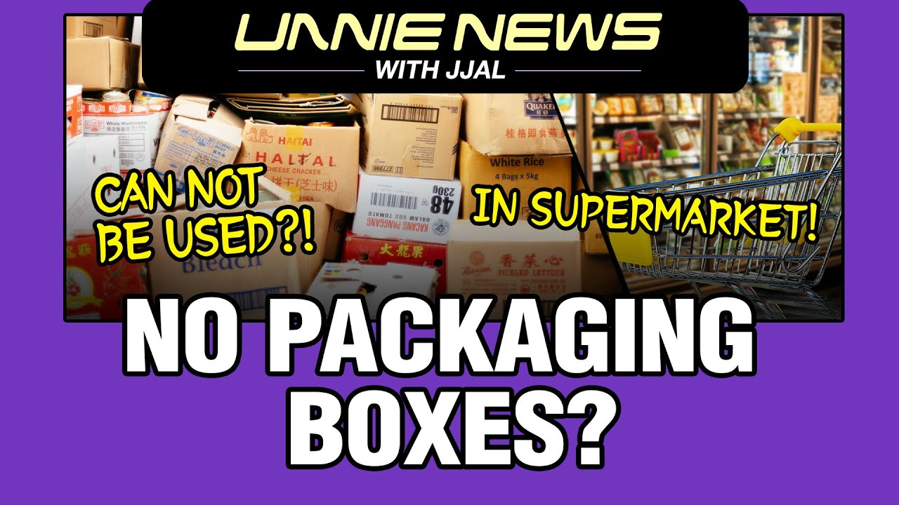 [UNNIE NEWS with JJAL] No Packaging Boxes?