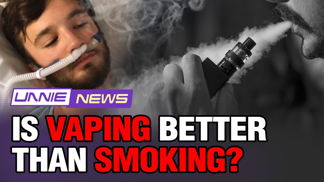 [UNNIE NEWS with JJAL] Is vaping better than smoking?