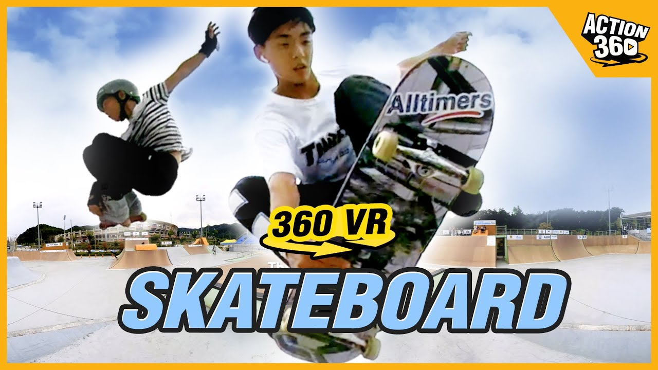 [Action 360] Skateboard, Aggressive Inline, 20 People Who Challenge Their Limits!