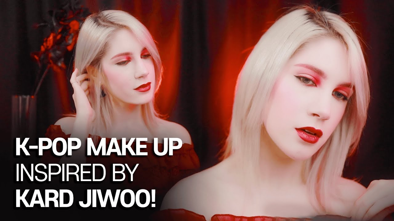 KARD JIWOO's Dumb Litty Inspired Makeup!