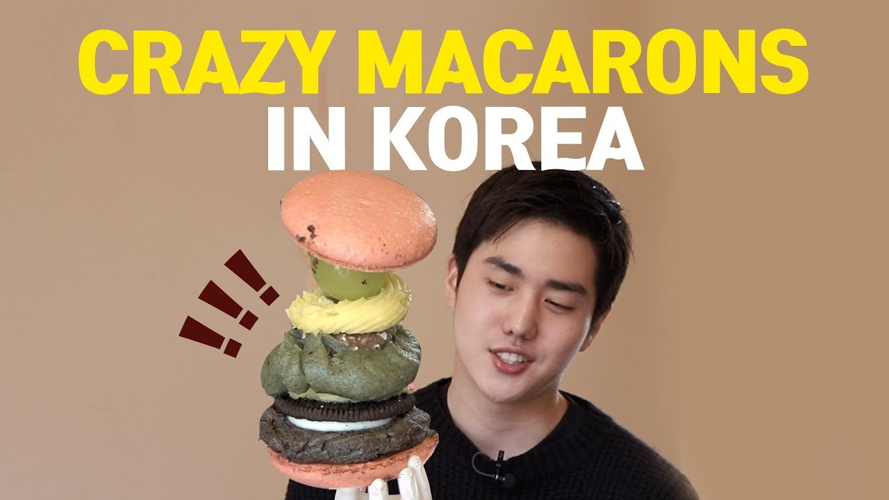 Ep.33 When Korea Loves Macarons : KOREANIZED MACARONS | Food in KOREA