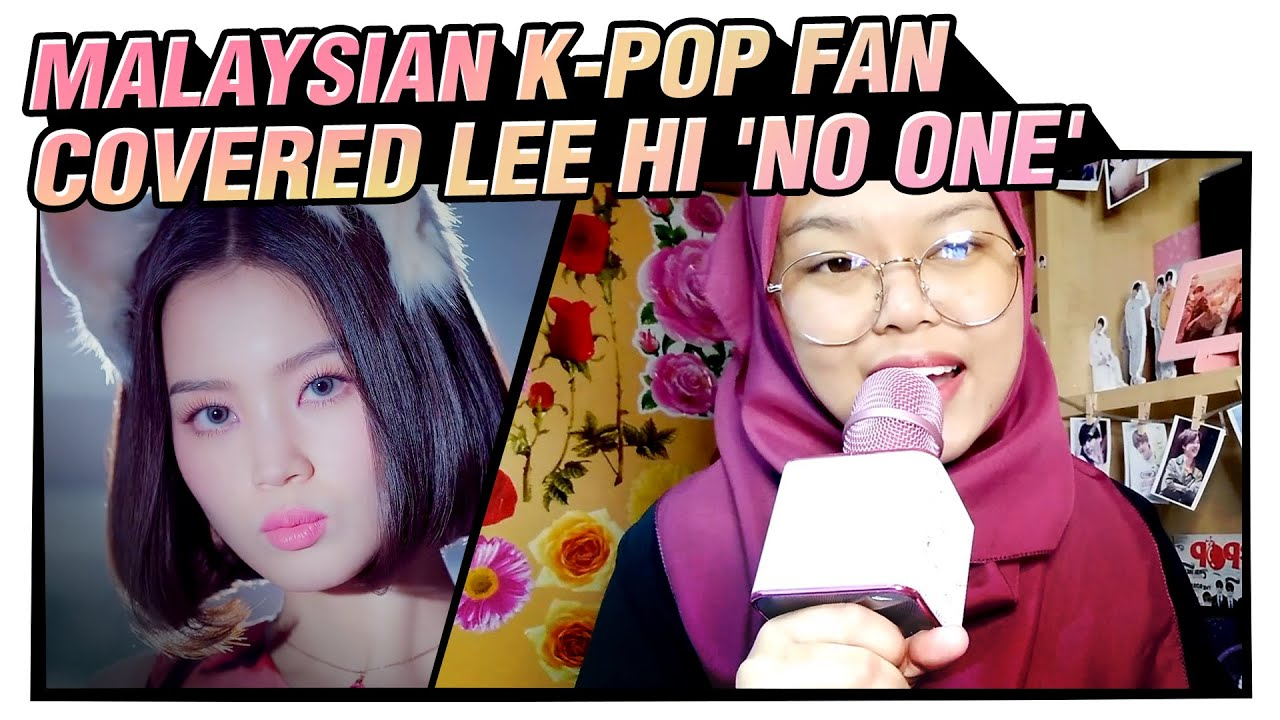 LEE HI - NO ONE | K-pop Cover Song ①