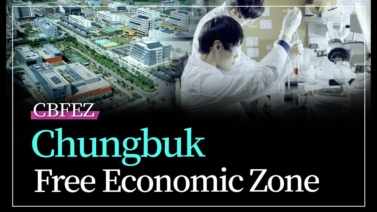 Chungbuk, the most dynamic and fastest growing place