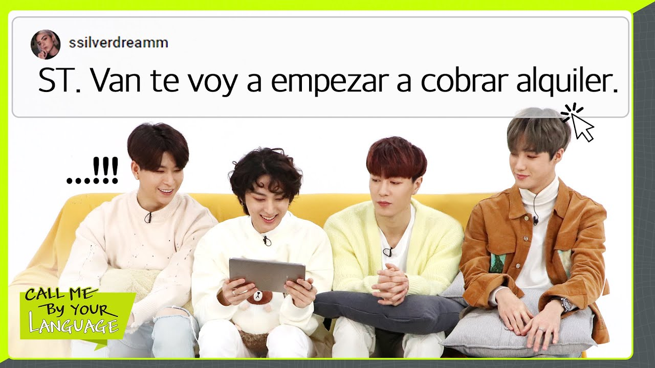 VAV replies to fans in SPANISH | CBL (CALL ME BY YOUR LANGUAGE)