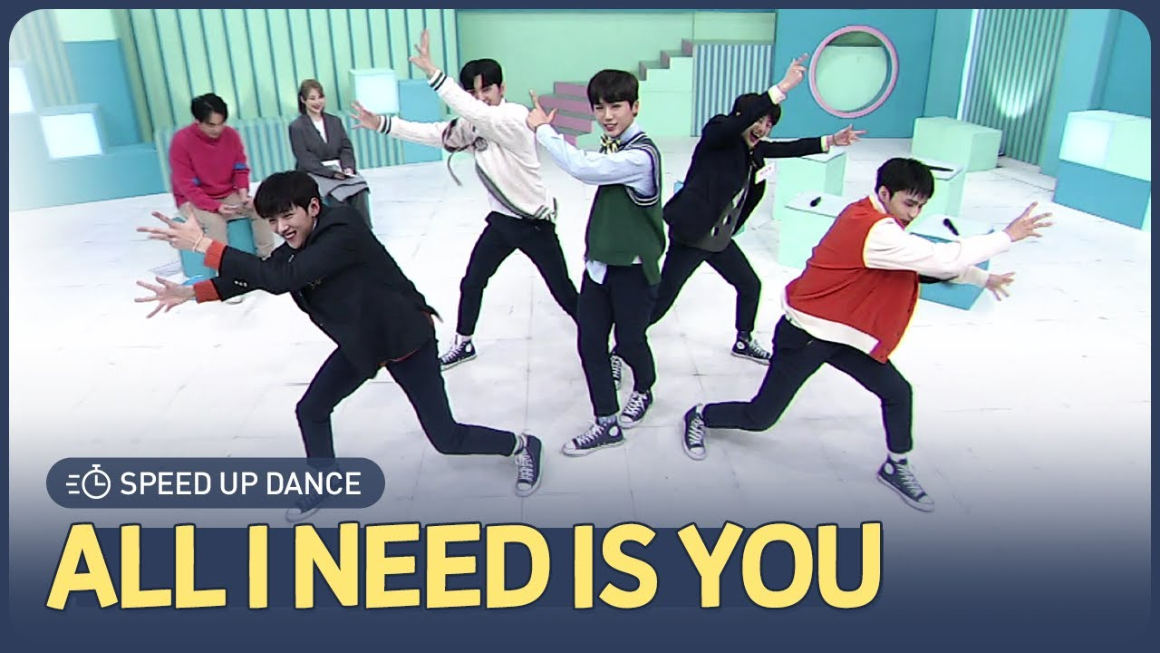 [AFTER SCHOOL CLUB] DONGKIZ's 'All I Need is You' speed up dance (동키즈의 'All I Need is You' 스피드업 댄스)