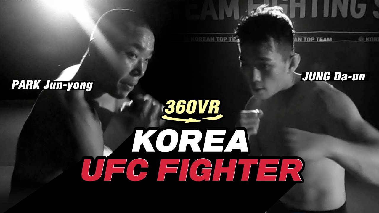 Korea UFC Fighter l 360° VR video (4K)