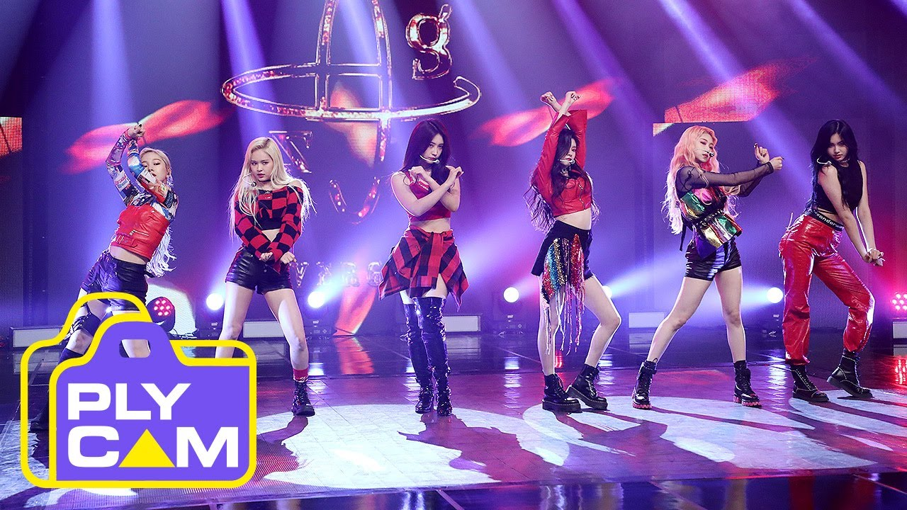 [4K] [FULL CAM] EVERGLOW DUN DUN (에버글로우 풀캠)_Simply K Pop Ep.400