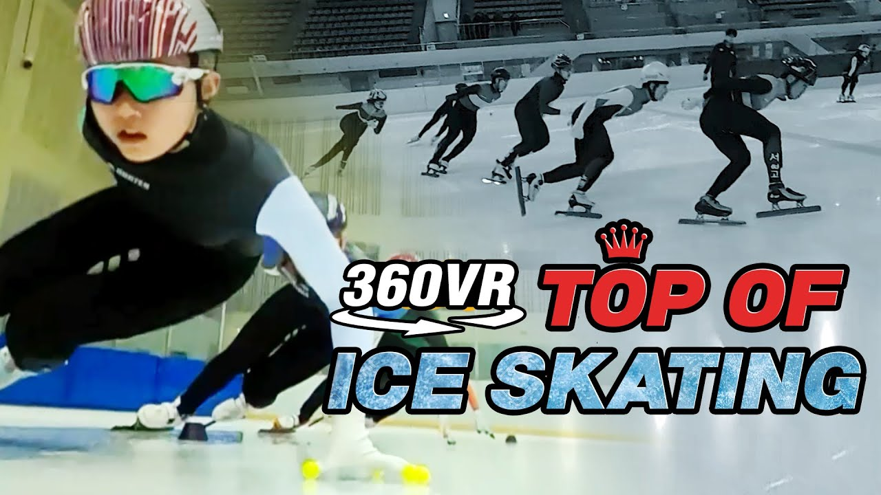 Korea Short Track 360° VR | Top of Ice Skating