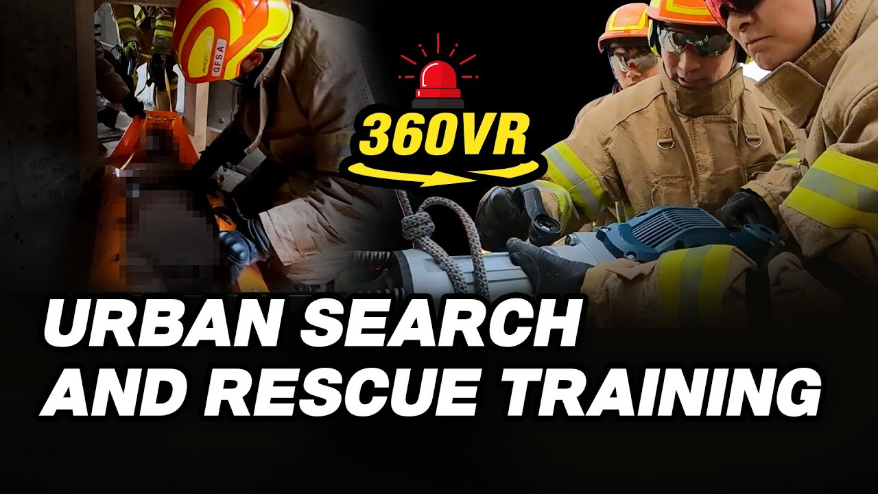 360° Urban Search and Rescue Training