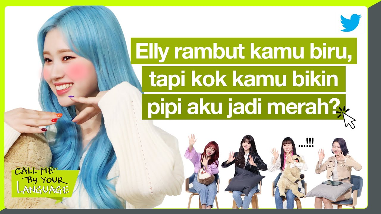 WEKI MEKI replies to fans in BAHASA INDONESIA | CBL (CALL ME BY Y...