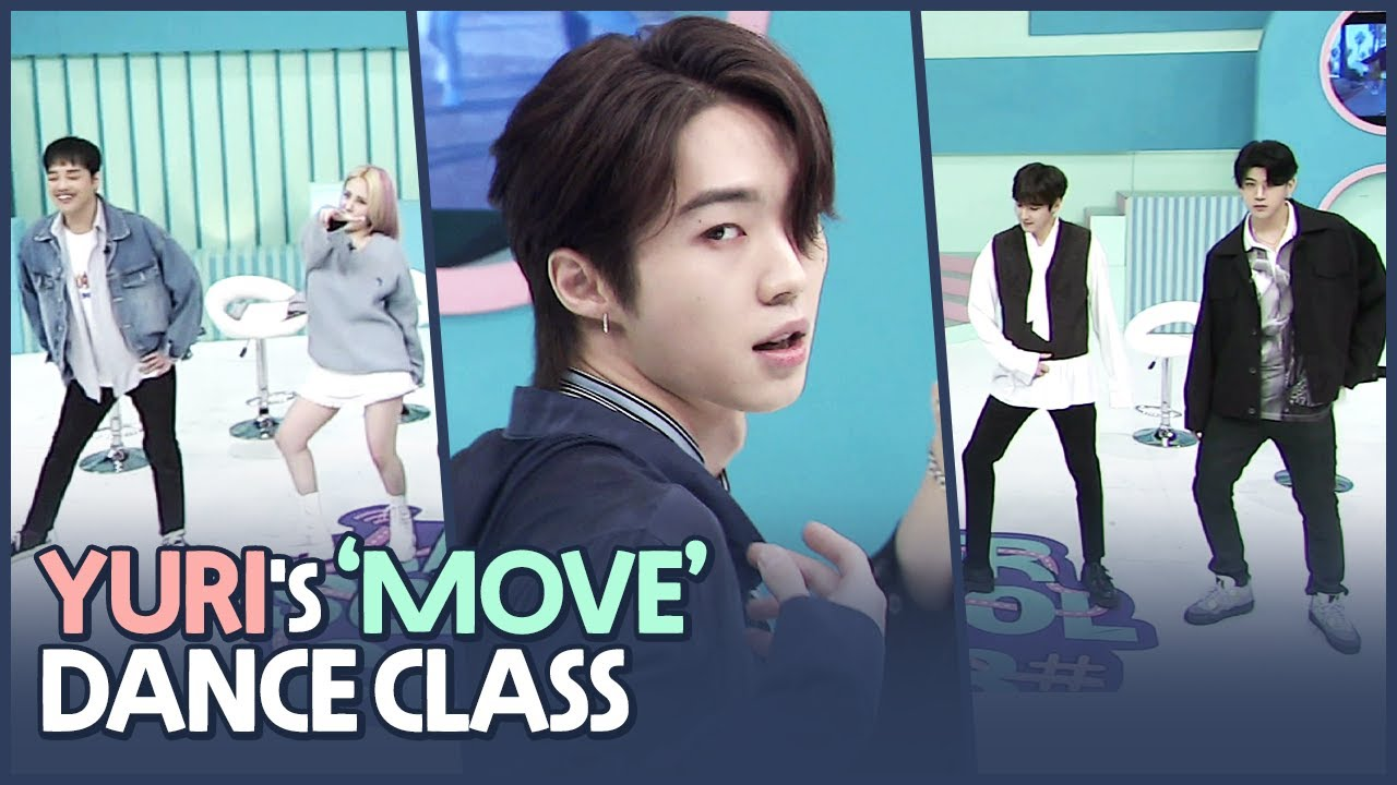 [AFTER SCHOOL CLUB] Yuri's 'MOVE' dance class (유리의 태민 - MOVE 안무 교실)