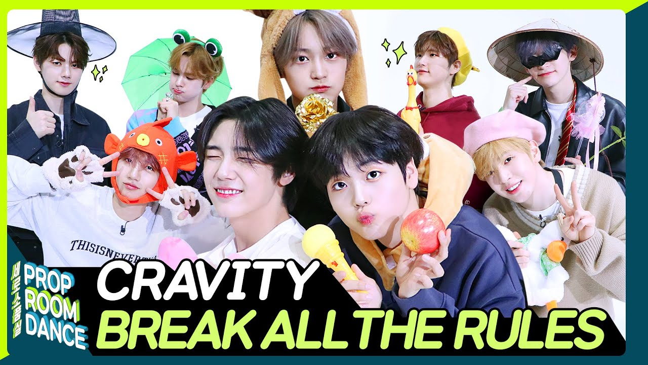CRAVITY - BREAK ALL THE RULES | PROP ROOM DANCE | 세로소품실