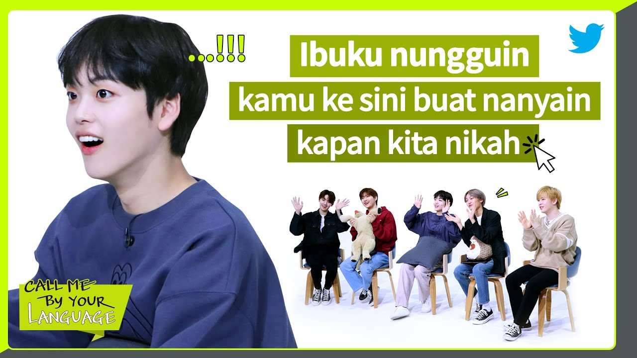 CRAVITY replies to fans in BAHASA INDONESIA | #CBL (CALL ME BY YOUR LANGUAGE)