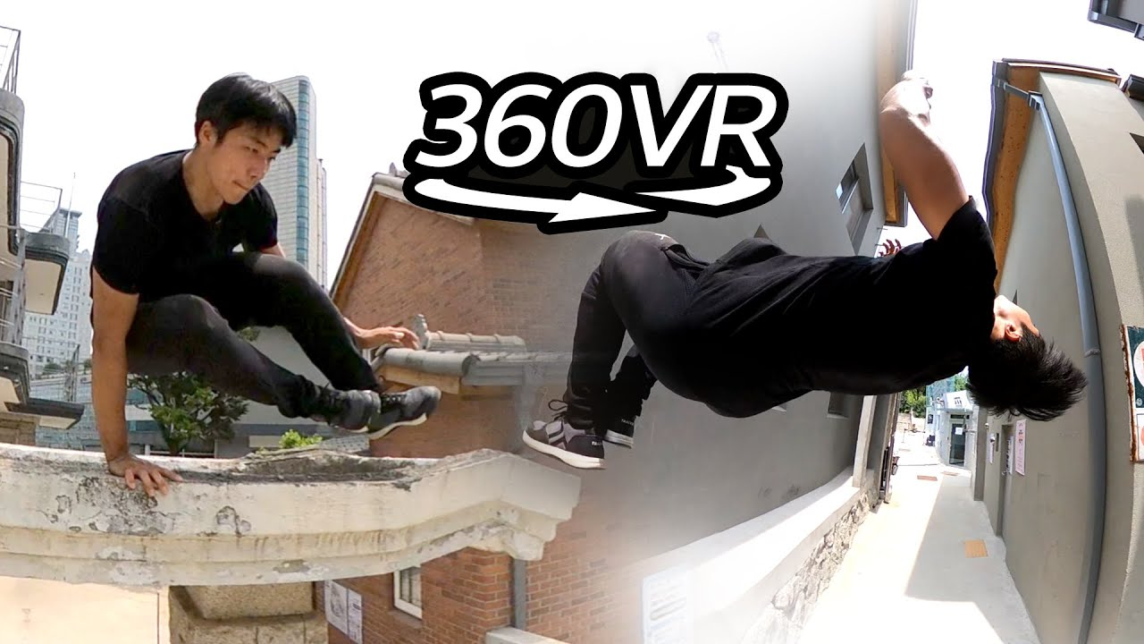 360° View l Parkour, Freedom in Motion l 360 VR