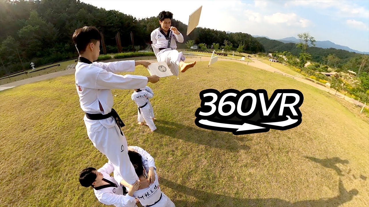 360° View l Taekwondowon, Mecca for world Taekwondo practitioners l 360 VR