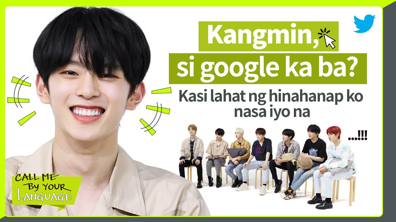 VERIVERY replies to fans in FILIPINO | #CBL (CALL ME BY YOUR LANGUAGE)