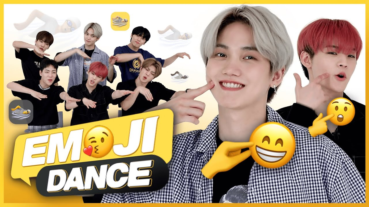 ONF do emoji quiz and make new emoji dance?! ㅣCONAN GRAY, SEVENTEEN, MONSTA XㅣEMOJI DANCE